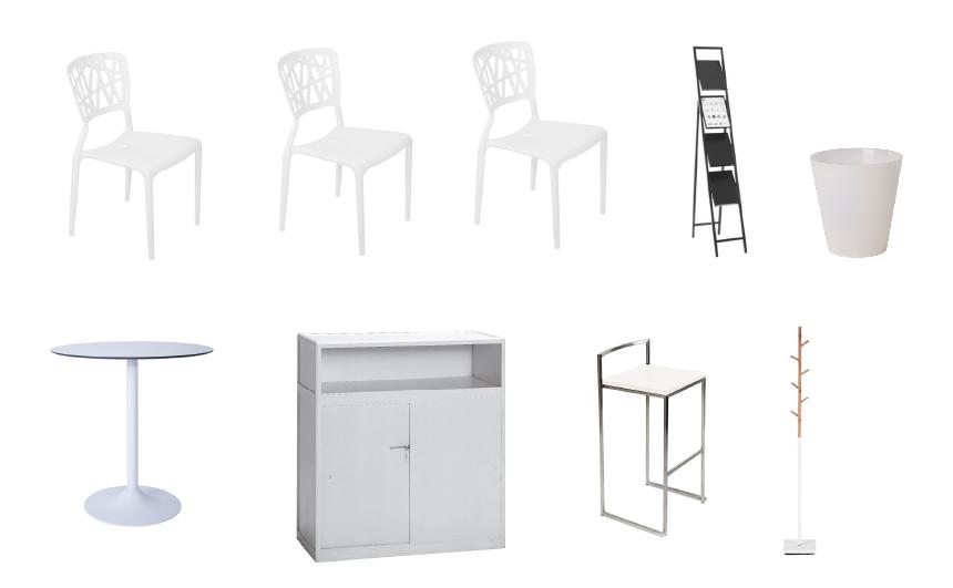Pack mobilier Standard